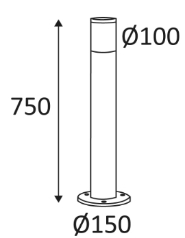 Dimensions INDIGO Filo P OU17724