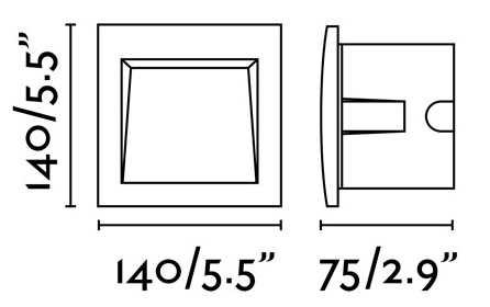 FARO SEDNA grand modèle carré