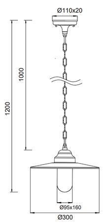 Dimensions suspension BRENTA
