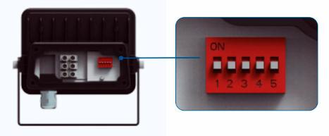 Réglage projecteur SKY sensor