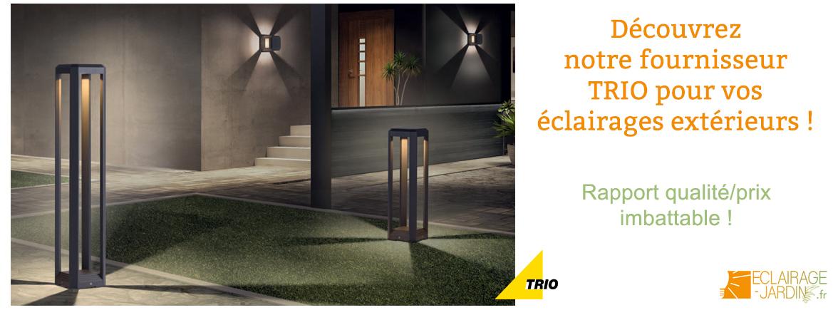 Luminaires extérieurs de la marque TRIO