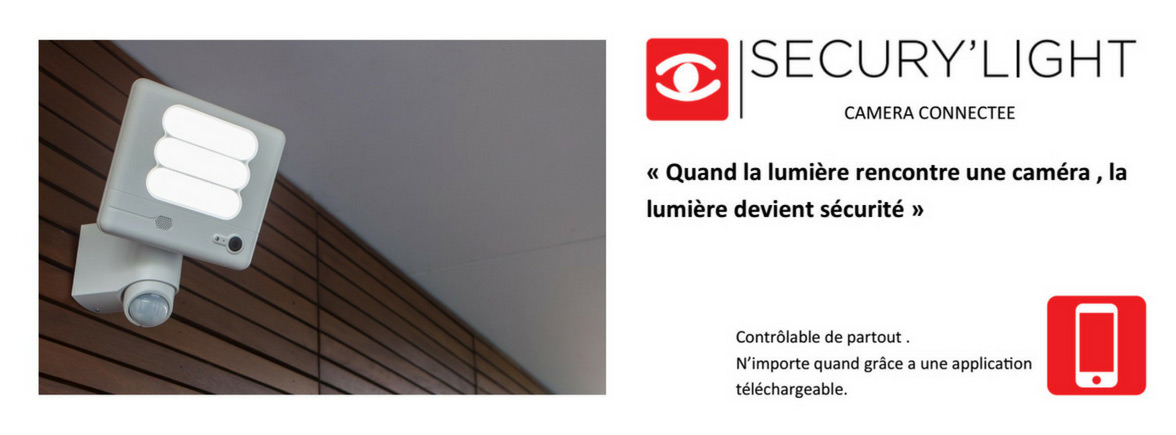Applique SECURY LIGHT LED