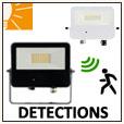 Projecteurs LED avec detecteur BENEITO