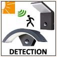 Appliques avec détecteur - Eclairage jardin
