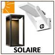 Appliques solaires - Eclairage jardin