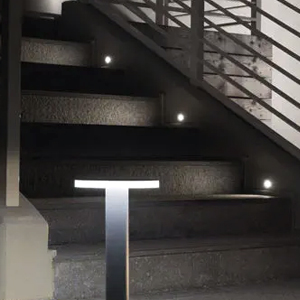 Eclairage extérieur encastrés muraux