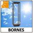 Bornes solaires