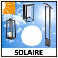 Lumière solaire - Eclairage jardin
