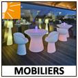 mobiliers lumineux d'extérieur