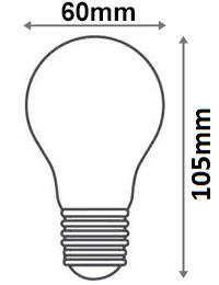 Ampoule standard LED 24V