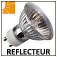 Ampoules réflecteurs halogènes GU10, E14, E27