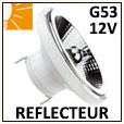 Lampe réflecteur G53 / Tension 12V