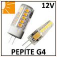 Lampes LED pépite G6.3 ou G4