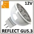 Lampes réflecteur GU5.3 ou G4 / Tension 12V