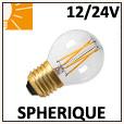Lampes Led Sphérique 12V