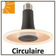 Lampes LED circulaires E27