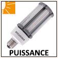 Lampes LED forte puissance E40/E27