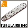 Lampe tubulaire iodure métallique E40