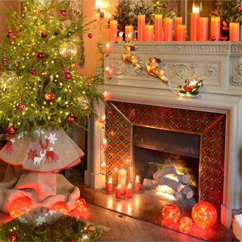Guirlande intérieure de Noël Blachère